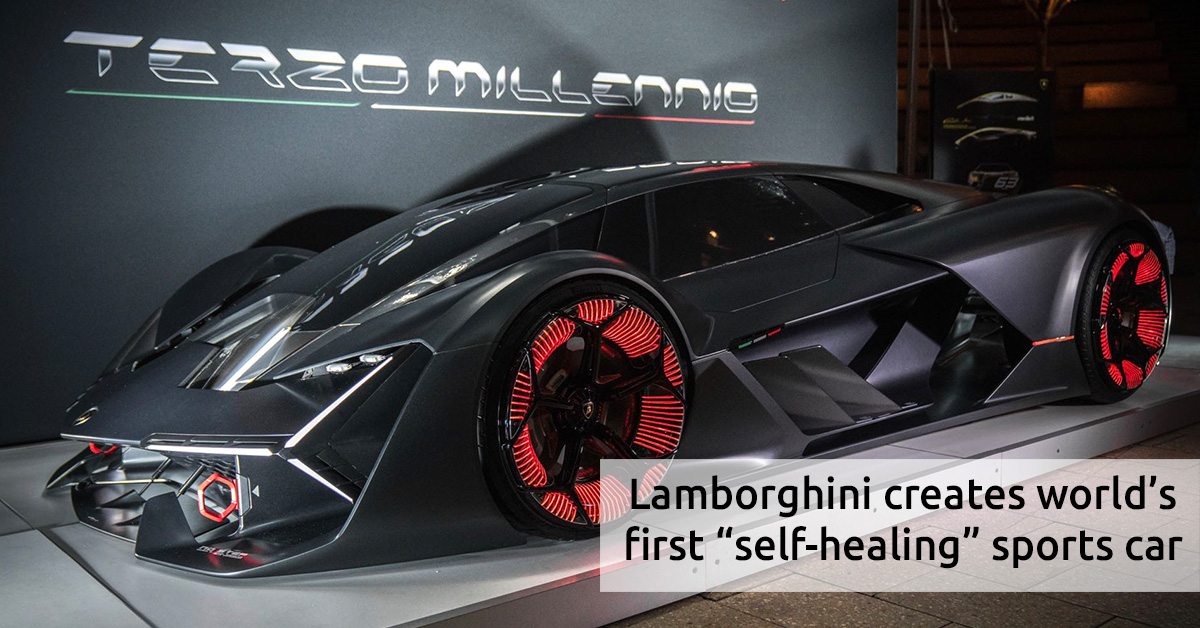 Lamborghini Creates Worldu0027s First U201cself Healingu201d Sports Car   MyUAEguide.com