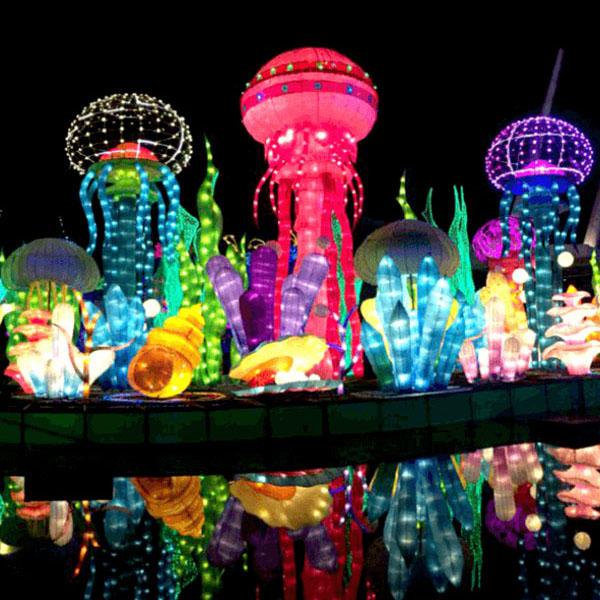Nice Top 7 Attractions In Dubai Garden Glow