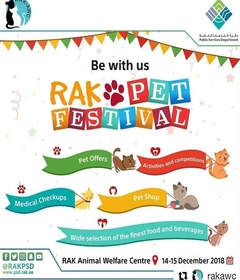 Rak Pet Festival @ Rak Animal Welfare Center   Ras al Khaimah   United Arab Emirates