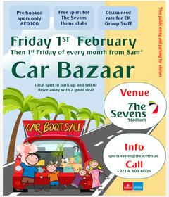 Car Bazaar at The Sevens Stadium @ The Sevens Stadium Dubai | Dubai | United Arab Emirates