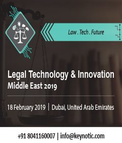 Legal Technology & Innovation Middle East @ JW Marriott Marquis Dubai | Dubai | Dubai | United Arab Emirates
