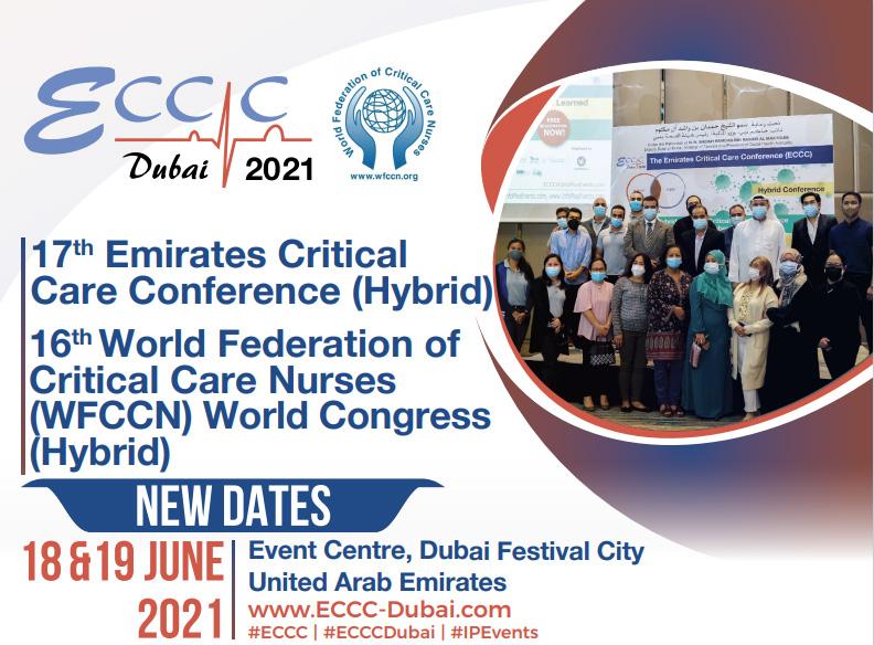 17th Emirates Critical Care Conference (Hybrid) @ Event Centre, Dubai Festival City