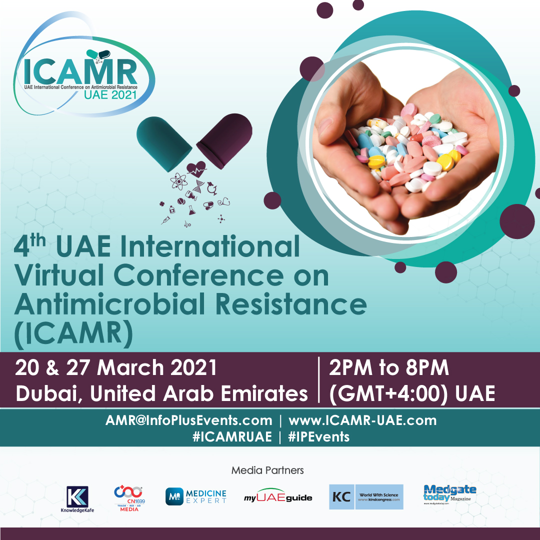4th UAE International Virtual Conference on Antimicrobial Resistance (ICAMR) @ Event Centre, Dubai Festival City